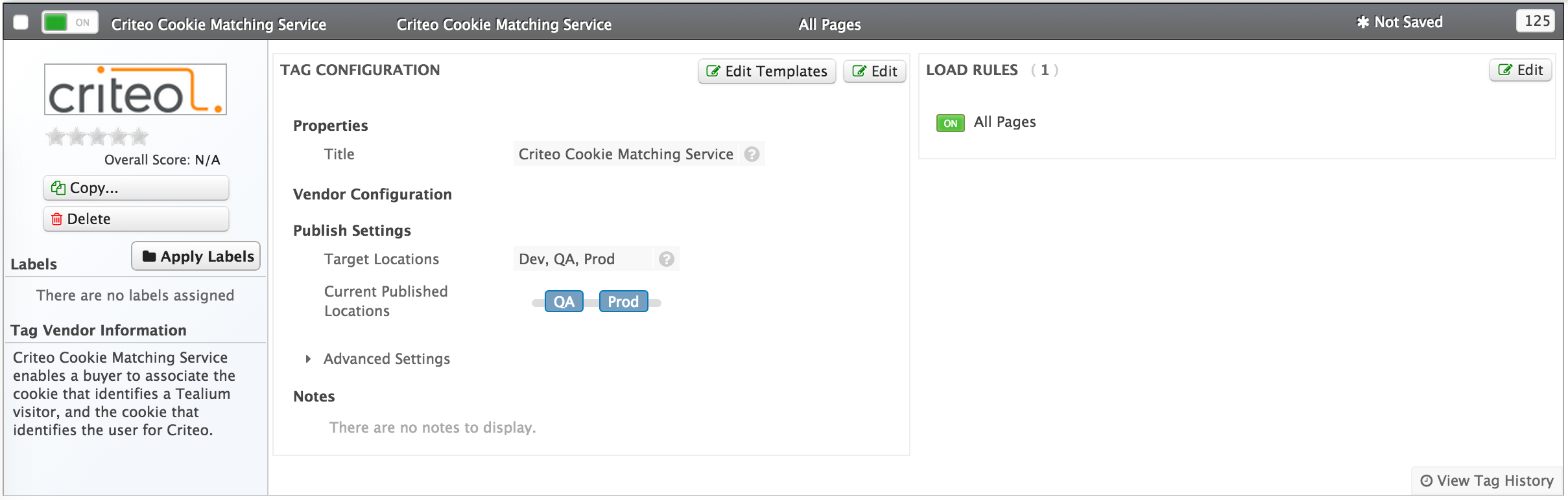 Criteo Cookie Sync