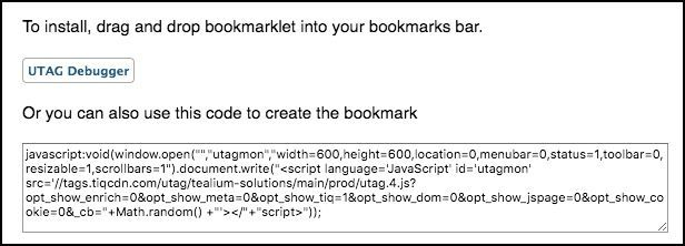 UTAG Debugger Bookmarklet Instructions.jpg