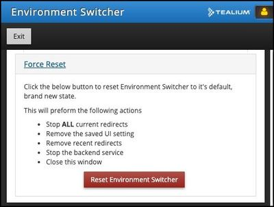 Tealium Tools_Environment Switcher_Help Tab_Reset Environment Switcher.jpg
