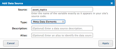 Need to parse sections of meta data - Tealium Learning Center