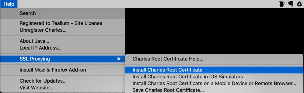 install charles root certificate in ios simulators