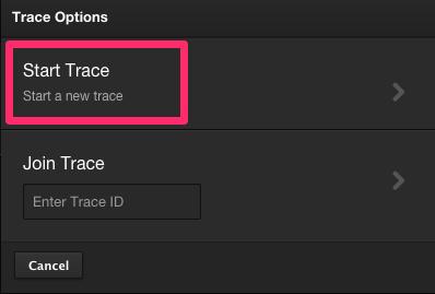 Start Trace