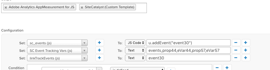 Best way to track Adobe Analytics event tracking - Tealium