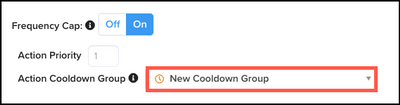 WhiteUI_AudienceStream_ActionFrequencyCappingAndPrioritization_Select Action Cooldown Group for Connector.png