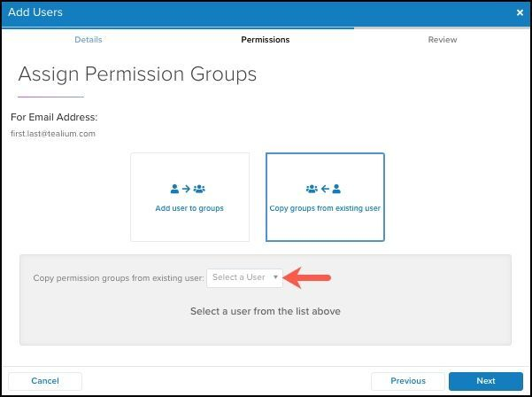 WhiteUI_Managing User Permissions in UDH_Beta_Assign Permissions_Copy Groups from Existing User.jpg