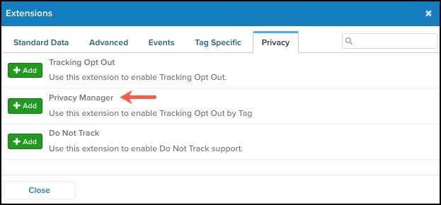 Tracking Opt Out Extension_Add Privacy Manager Extension.jpg