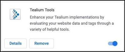 Tealium Tools_Chrome Extension_Remove.jpg