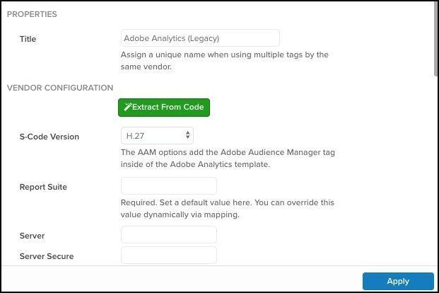 Adobe Analytics Legacey Tag Select Upgrade Version.jpg